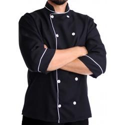 Dólmã Chef Tradicional em Gabardine